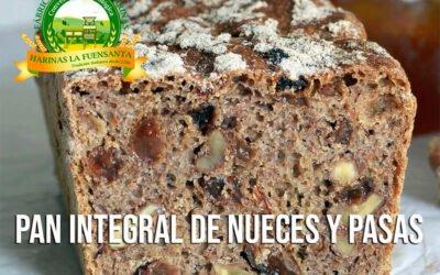 Pan integral de Nueces y Pasas