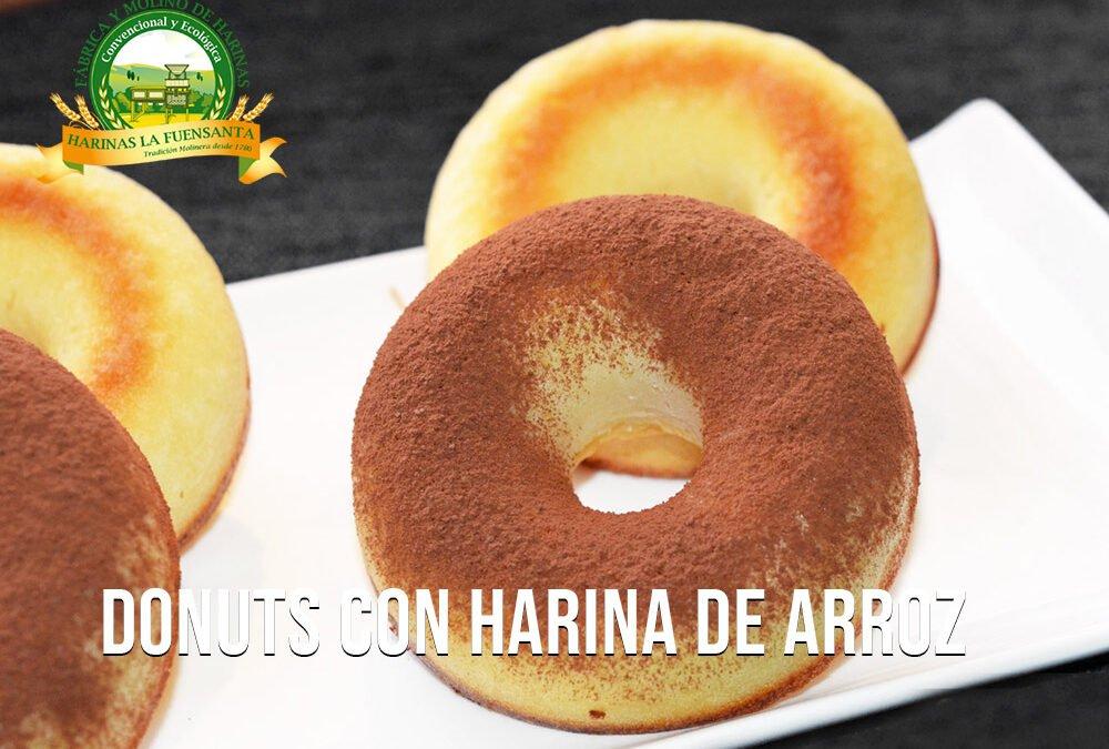 Donuts con harina de arroz