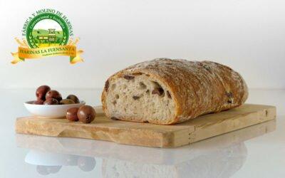 Receta de pan casero de aceitunas